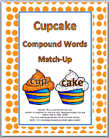 ~ http://www.teacherspayteachers.com/Product/Cupcake-Compound-Words-Match-Up-Activity