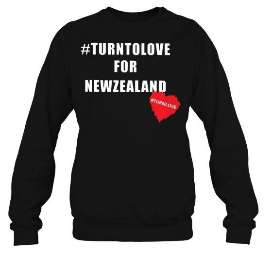Turn On Love For New Zealand Hoodie, Turn On Love For New Zealand Sweatshirt, Turn On Love For New Zealand Shirts
