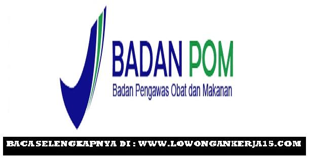 Rekrutmen Pusdatin Badan POM, loker Tahun Anggaran 2019