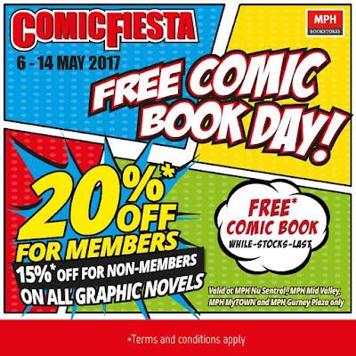 MPH Comic Fiesta Free Comic Book Day