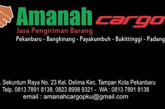 Lowongan Amanah Cargo Pekanbaru April 2019