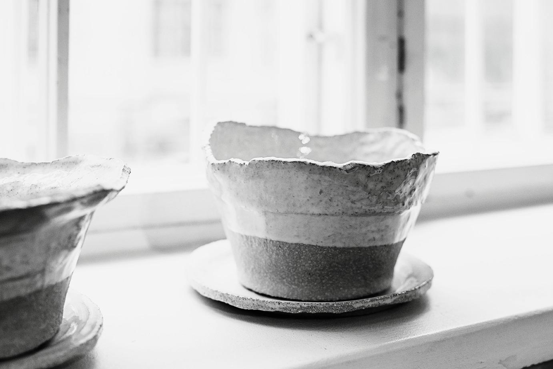 Raaka Rå keramiikka, keramiikkakurssi, Marita Kouhia, Marianne Huotari, Studio Smoo, Septaria, käsityö