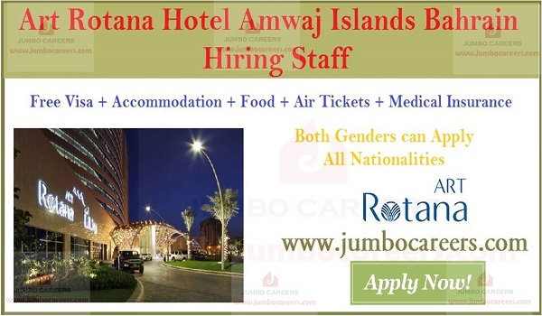 Latest 5 star hotel jobs in Bahrain, Available hotel jobs in Bahrain,