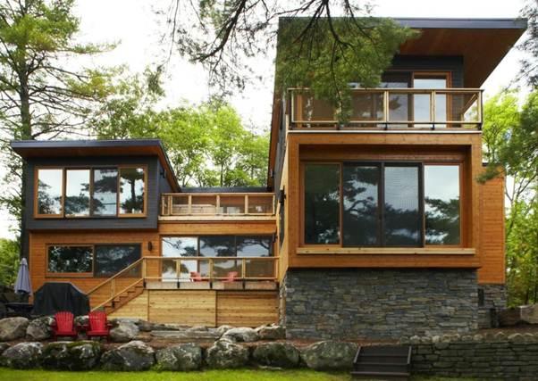 Desain rumah minimalis berlantai 2