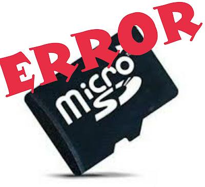 Memperbaiki Kartu Memory MicroSD Rusak Tidak Terbaca dan Minta Diformat