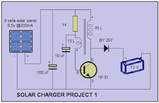 Simple Solar charger circuit