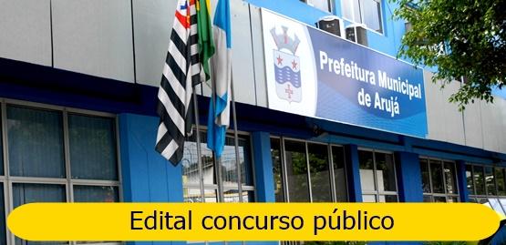 concurso Prefeitura de Arujá - SP - edital 2018/2019