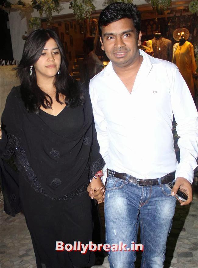 Ekta Kapoor, Salman Khan's Sister Alvira Khan Store Launch