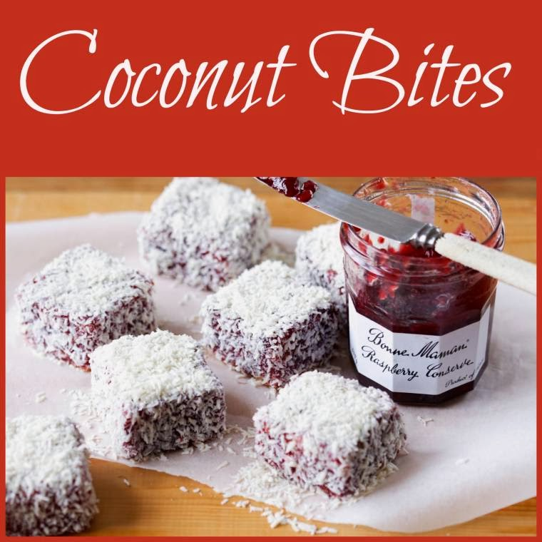 Coconut Bites A Guest Recipe Post From Bonne Maman