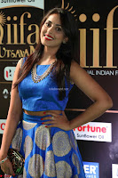 Madhu Shalini Looks Super Cute Slim trim Blue Choli Ghagra IIFA Utsavam Awards 043.JPG