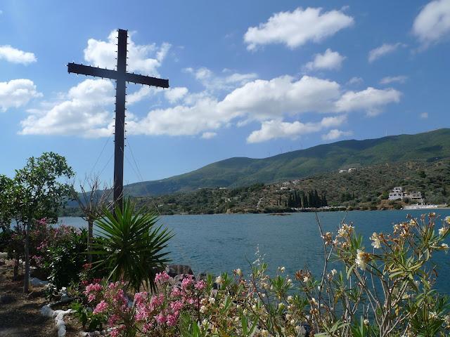 Na koniec roku spacerkiem po błękitnej Grecji/A walk in the blue Greece for the end of the year