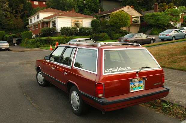 1987 Plymouth Reliant K Station Wagon