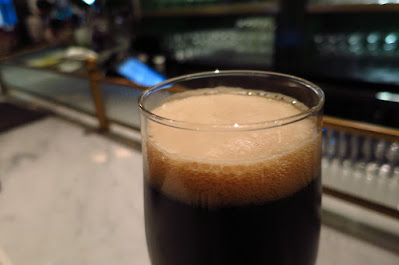 Violet Oon Satay Bar & Grill, black magic dry irish stout