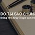 03 lý do tại sao không nên dùng Google Adsense trên Website kiếm tiền