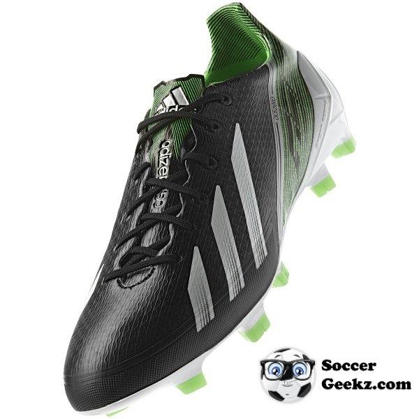 SoccerGeekz Leak: Adidas F50 adiZero III BlackGreen Zest
