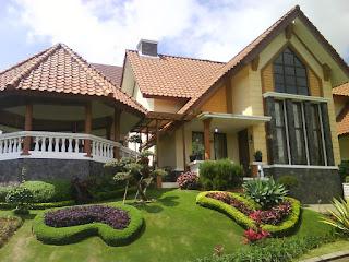 sewa villa kota bunga type monza
