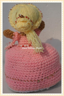 crochet toy, doll