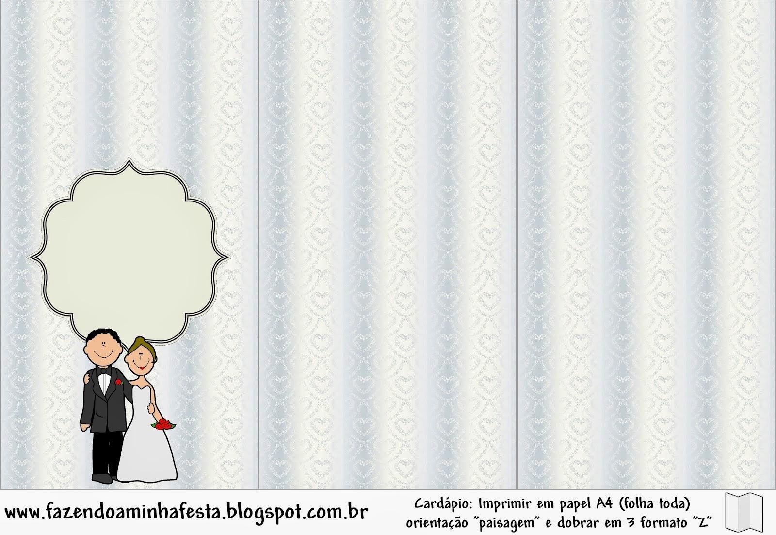 Linda Pareja de Novios: Imprimibles para imprimir Gratis. | Oh My Bodas!