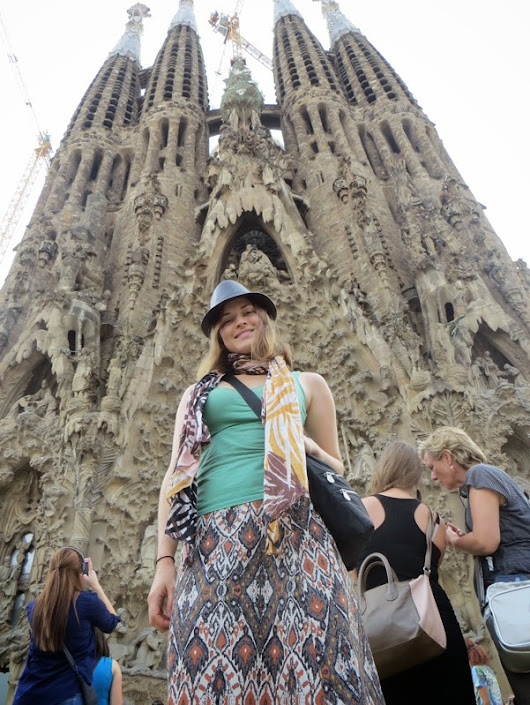 Barcelona: Gaudi, Trees, and Artchitecture