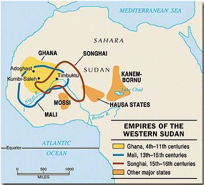 Black History Heroes: African Kingdoms: Meval Warfare Between ... on kingdom of ethiopia map, ancient ghana map, medieval ghana map, empire of ghana west africa map, classical empires in africa map,