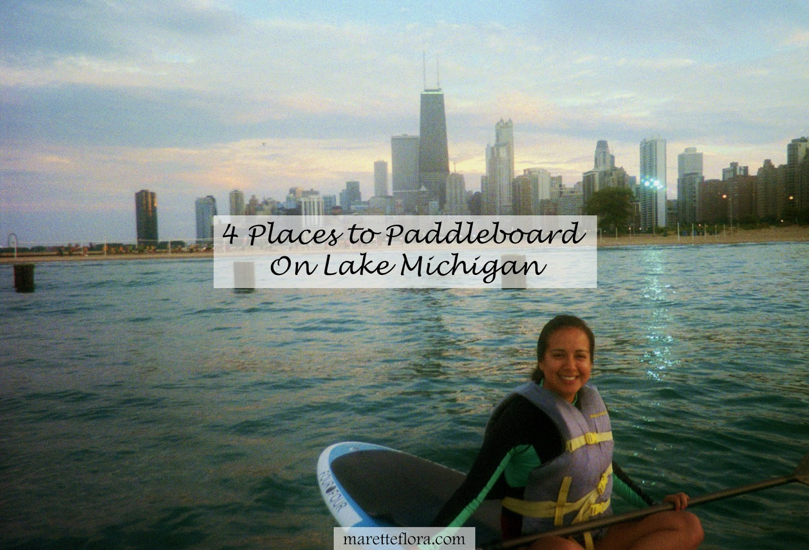Stand Up Paddleboarding On Lake Michigan 4 Places To Go