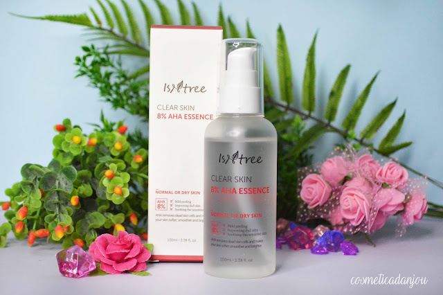 Isntree Clear Skin 8% AHA Essence Review