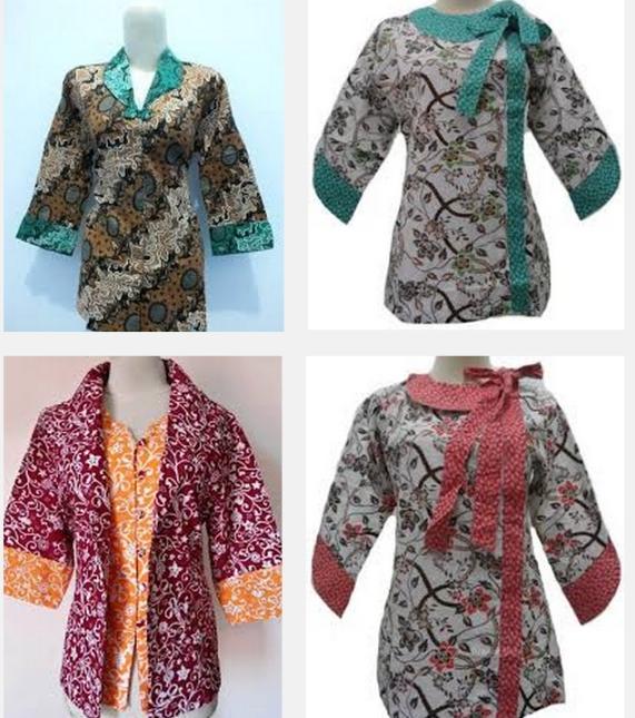 Baju Batik Modern Remaja Lagi Ngetren Banget Shono