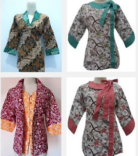 baju batik modern