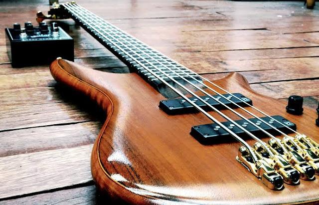Contoh alat musik electrophone Gitar Listrik