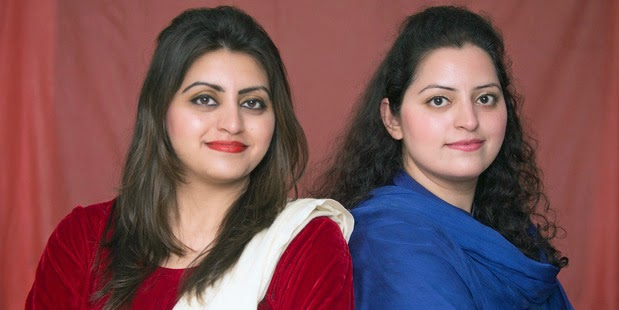 Sisters Gulalai and Saba Ismail against discrimination in Pakistan unite against extremism