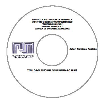 FORMATO DE CD PARA TESIS Y PASANTIAS ROTULADO EDITABLE EN WORD