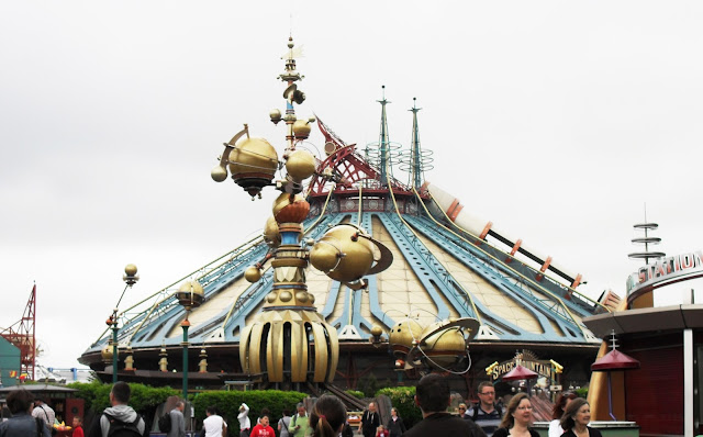 Spain Mountain, Disneyland Paris, Star War, Star Wars ride,