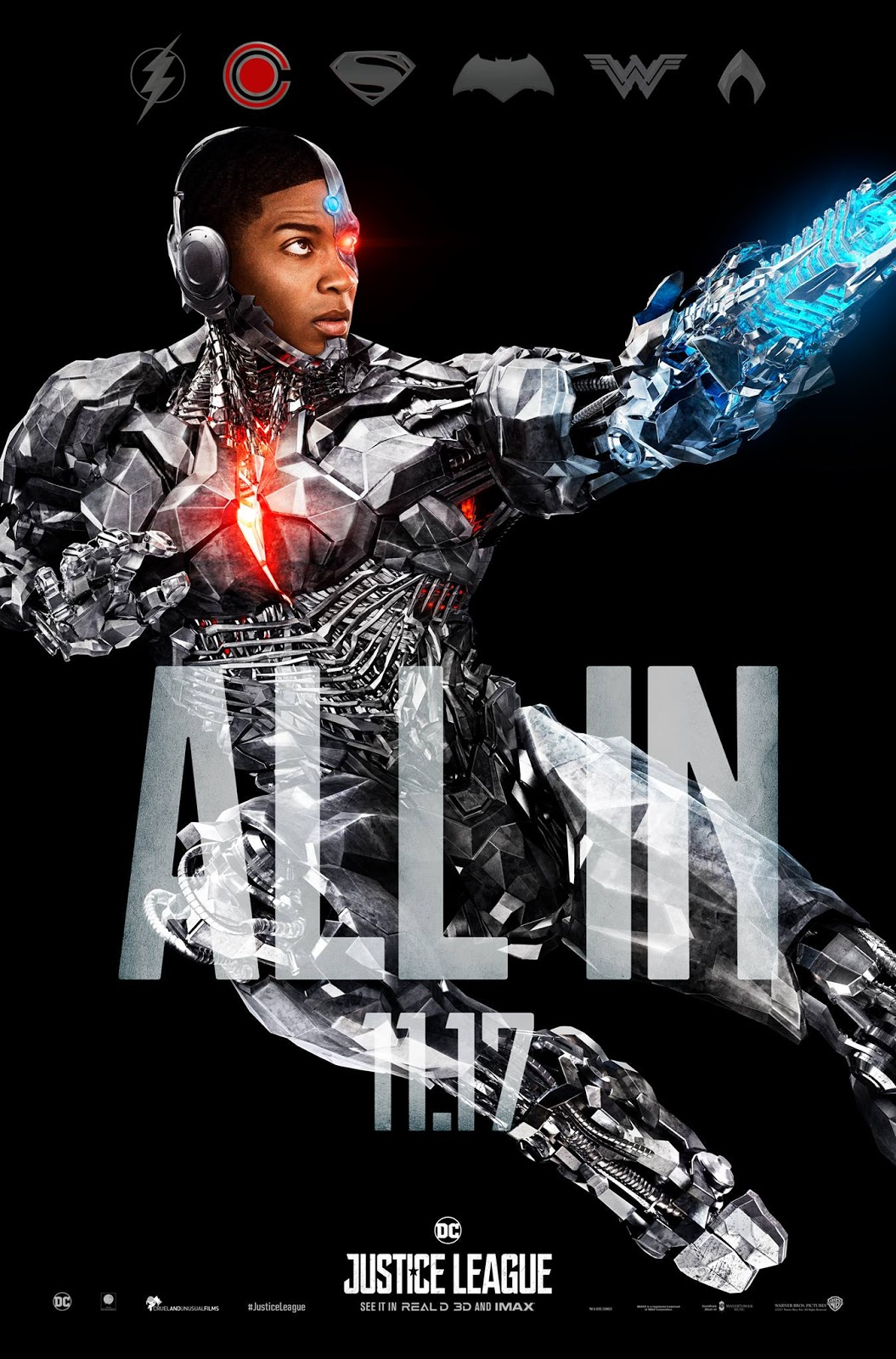 Justice League Movie: Cyborg