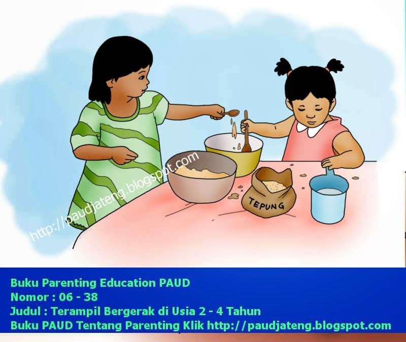 Buku Parenting Perkembangan Gerakan Anak Usia 2-4 Tahun