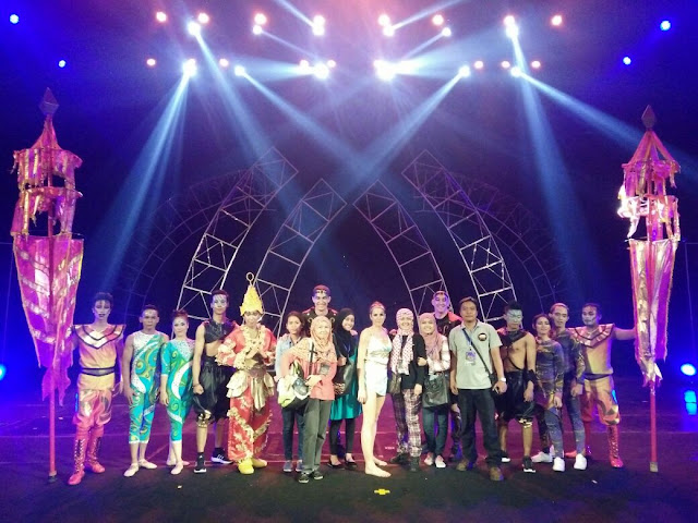 Sirkus The Book of The World di Trans Studio Bandung