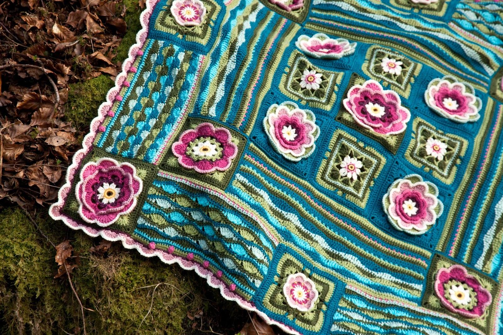 Knit Crochet Design Lily Pond Cal Set 8