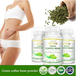 green coffee, copi hijau, green coffee kapsul