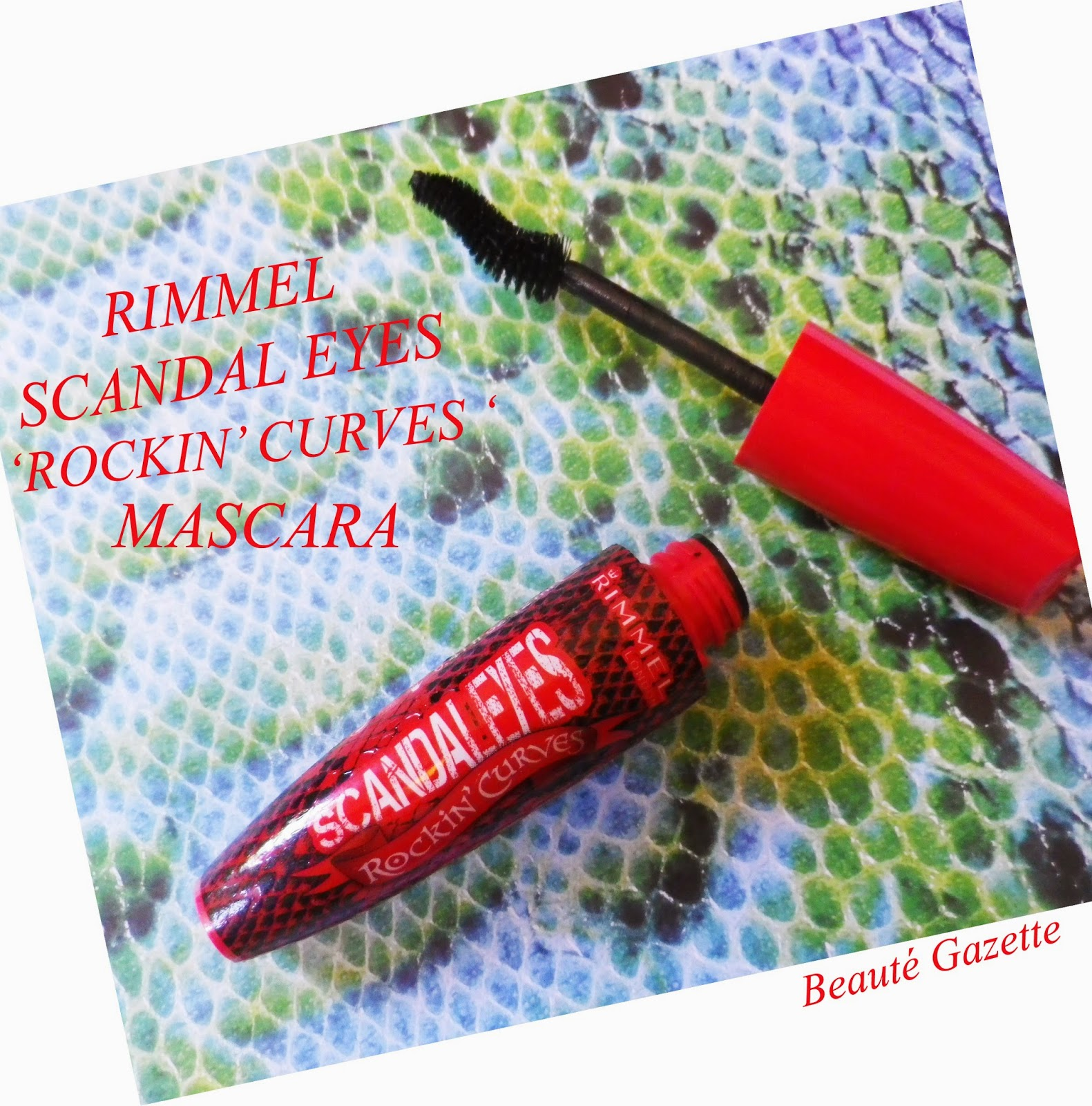 ce95eaa4ebb Beauté Gazette: RImmel Scandal Eyes 'Rockin' Curves' Mascara + Kate ...