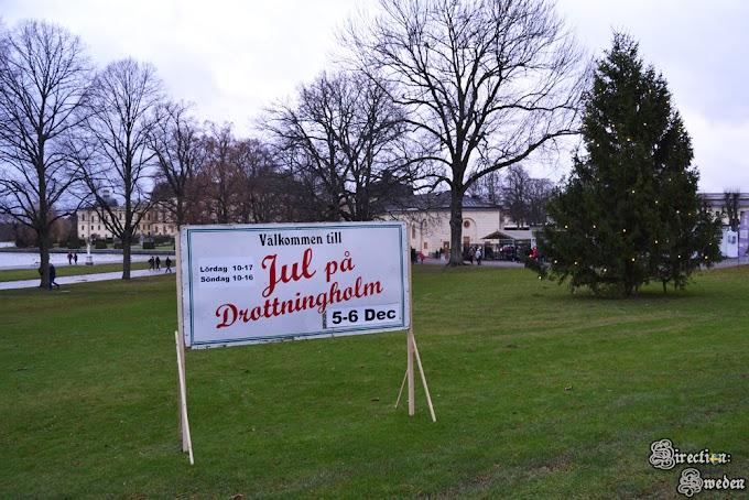 Jarmark świąteczny w Drottningholm