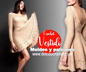 Vestido Crochet Falda Campana / DIY