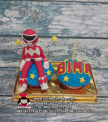 Cupcake isi 2 Power Rangers