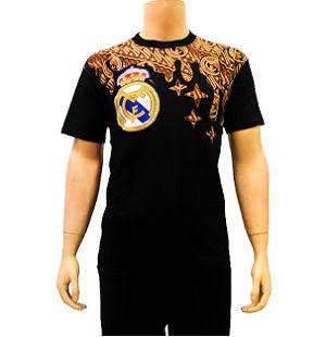 Kaos Batik Modern Bola