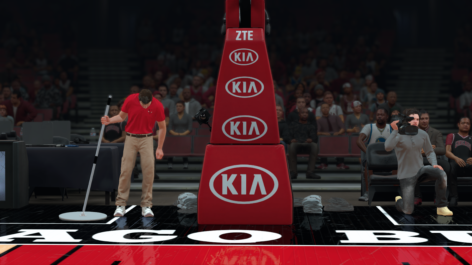 Exterior: Manni Live│2K Patches: Chicago Bulls United Center