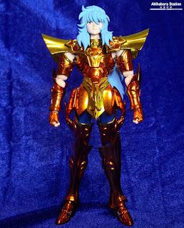 Saint Cloth Myth Ex Sea Emperor Poseidon & Throne Set