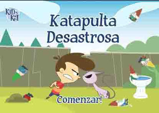 Juega Kid vs Kat Catapulta desastrosa