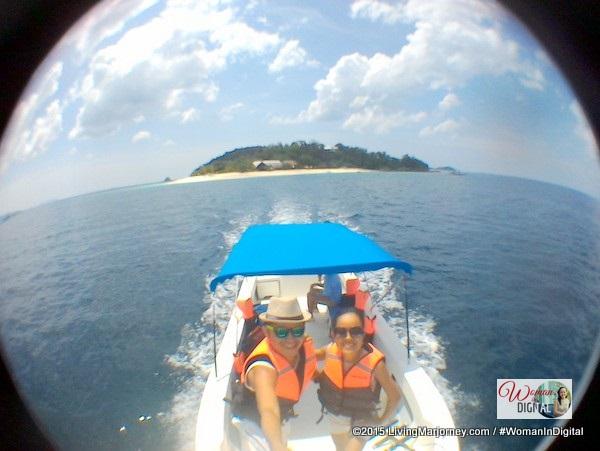 Approaching Dimakya Island