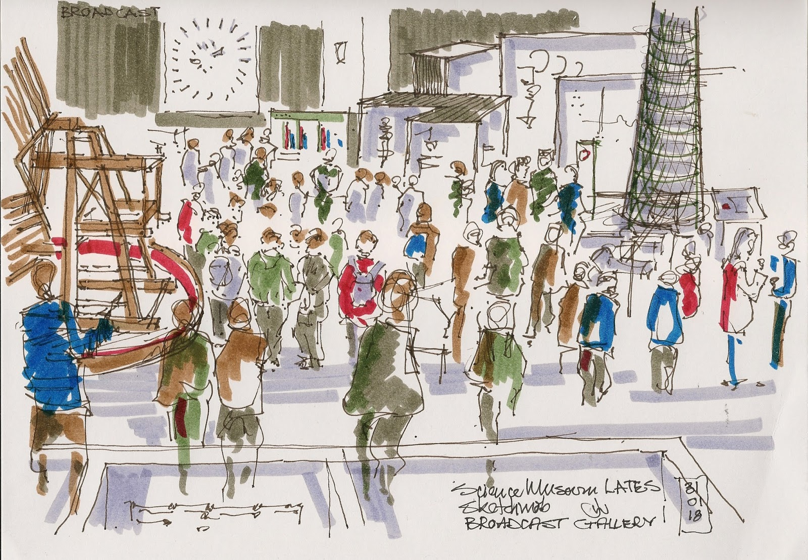 Museum Lates London Urban sketchers london science museum lates science museum lates sisterspd