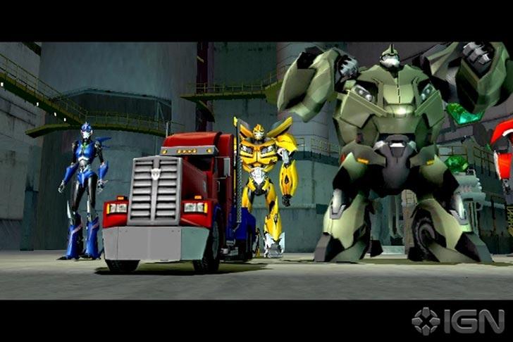Transformers Prime Game 2