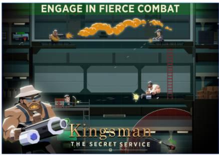 Game Kingsman The Secret Service Mod Apk (Game Mata Mata Android)
