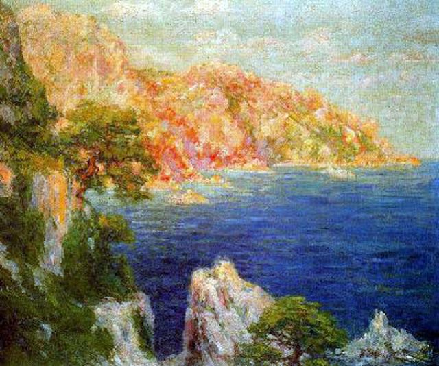 Pere Ysern i Alié, Costas de Mallorca, Mallorca en Pintura, Mallorca pintada, Paisajes de Mallorca